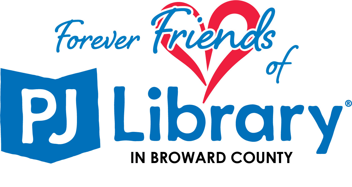 PJ Library ForeverFriends Broward Logo New