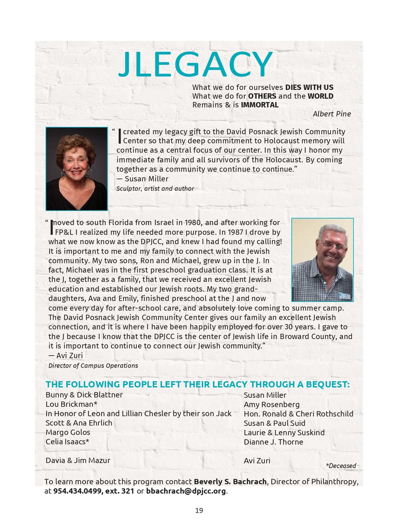 Susan Miller Avi Zuri Back Cover Program Guide Page 0001