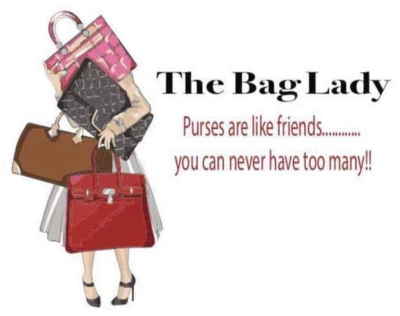 The Bag Lady Logo