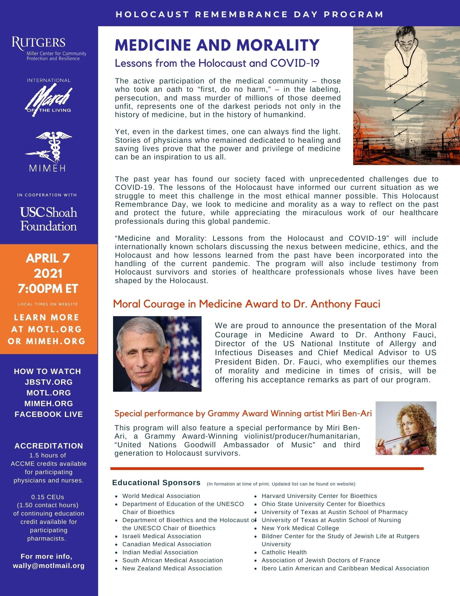 MOTL 2021 Medicine & Morality FLYER