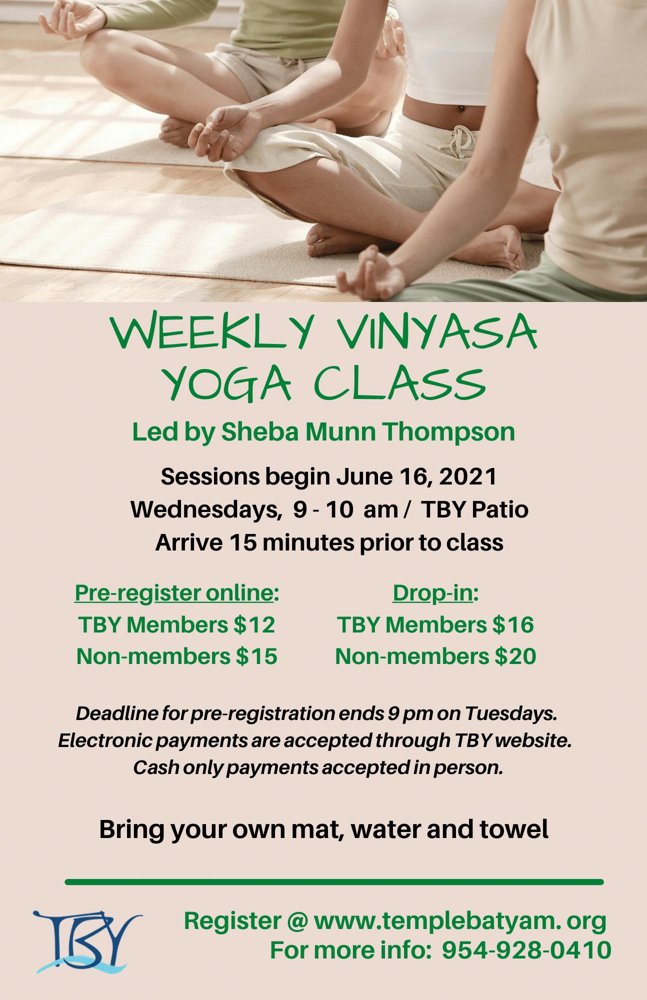 Yoga Class V3
