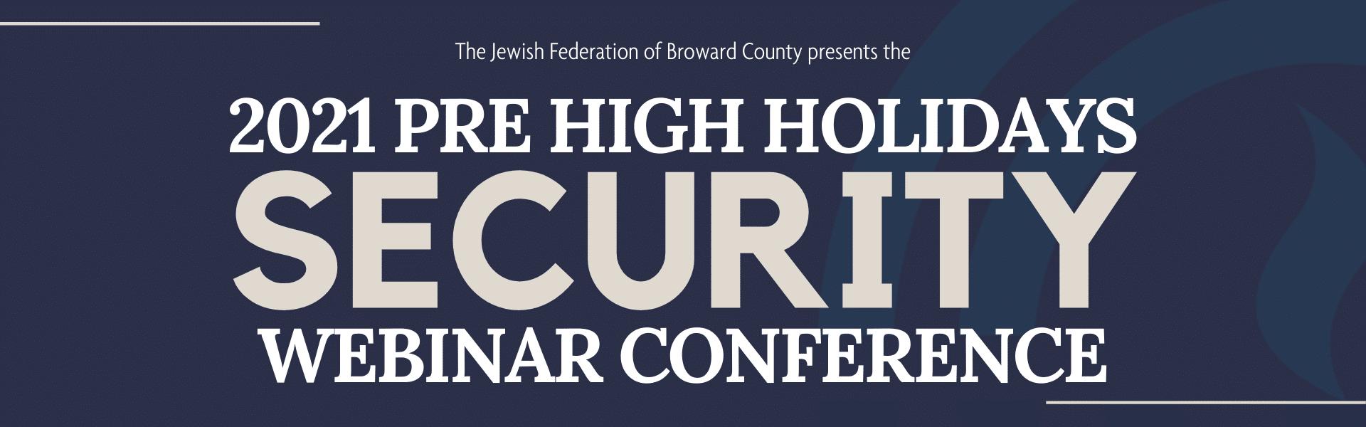 Security Conference Website Banner