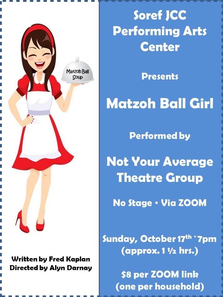 Matzoh Ball Girl Flyer 092321