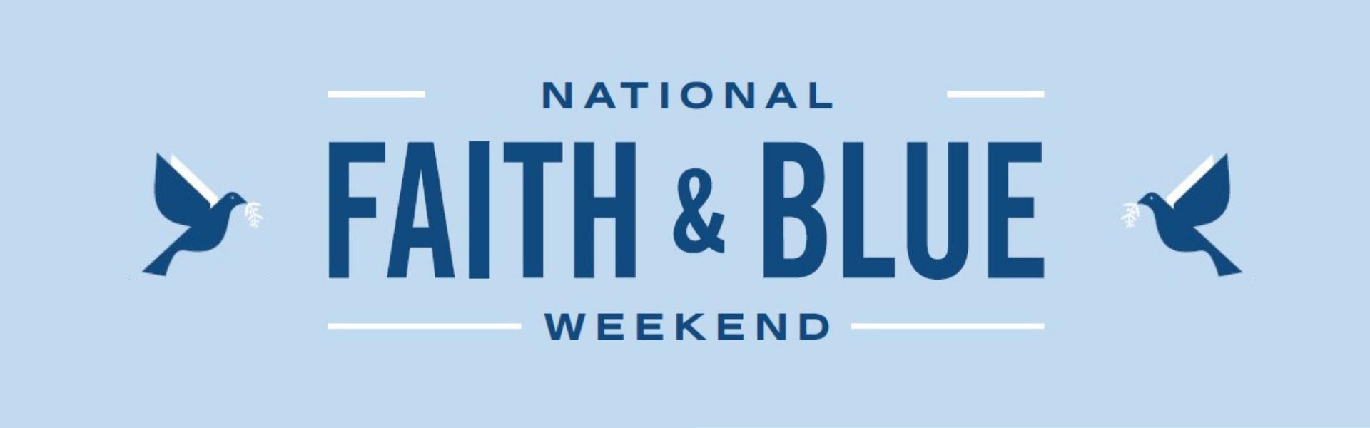 Faith & Blue Banner